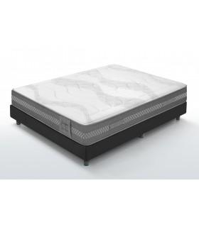 Matelas XTREME - Mousse HD Extra-ferme - H: 24 cm - Accueil visco-élastique très ferme  55 Kg/m3 de densité.