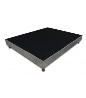 Sommier LBDM RUBIS Luxe-H17 cm-Structure Sapin Massif-Lattes passives–Convient à tous types de matelas