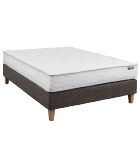 Matelas THIRIEZ -QUEENS-Resorts ensachés Spingflex-5 zones de confort- 2 faces de couchage-Confort ferme